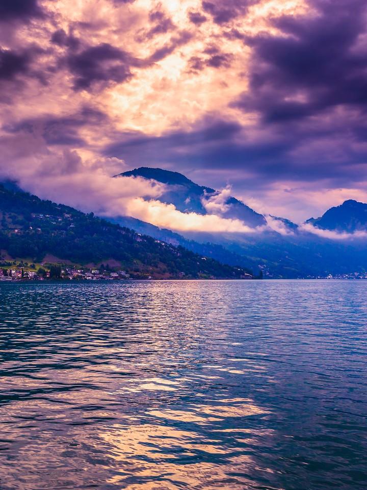 瑞士卢塞恩(Lucerne),浓浓的云彩_图1-20