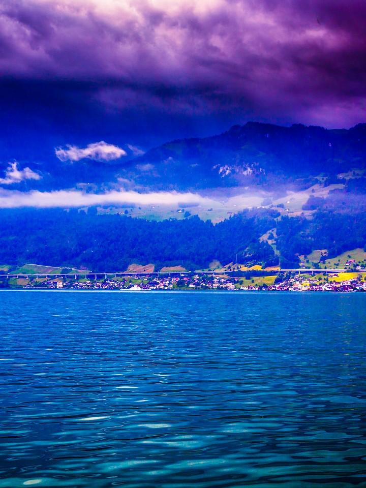 瑞士卢塞恩(Lucerne),浓浓的云彩_图1-25