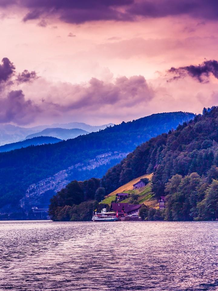 瑞士卢塞恩(Lucerne),浓浓的云彩_图1-23