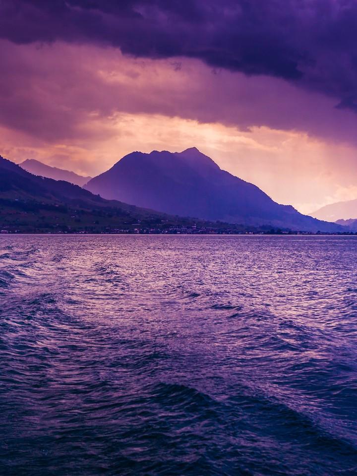 瑞士卢塞恩(Lucerne),浓浓的云彩_图1-18
