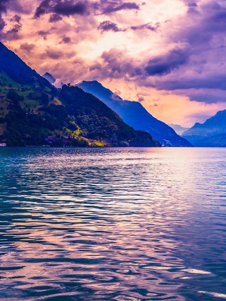瑞士卢塞恩(Lucerne),浓浓的云彩_图1-24