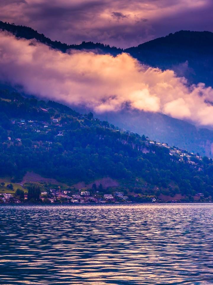 瑞士卢塞恩(Lucerne),浓浓的云彩_图1-33
