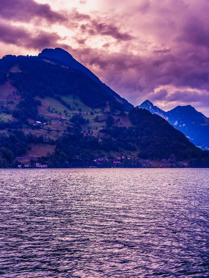 瑞士卢塞恩(Lucerne),浓浓的云彩_图1-32