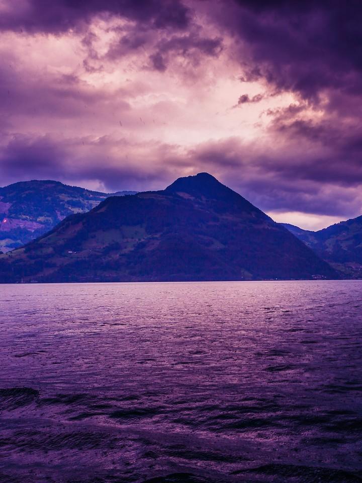 瑞士卢塞恩(Lucerne),浓浓的云彩_图1-26