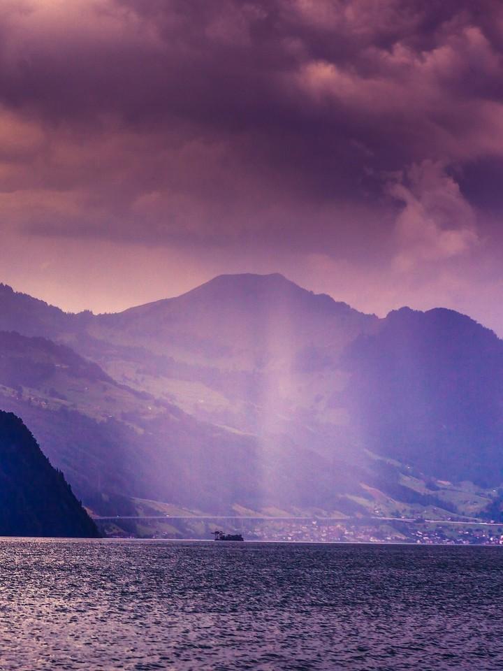 瑞士卢塞恩(Lucerne),浓浓的云彩_图1-30