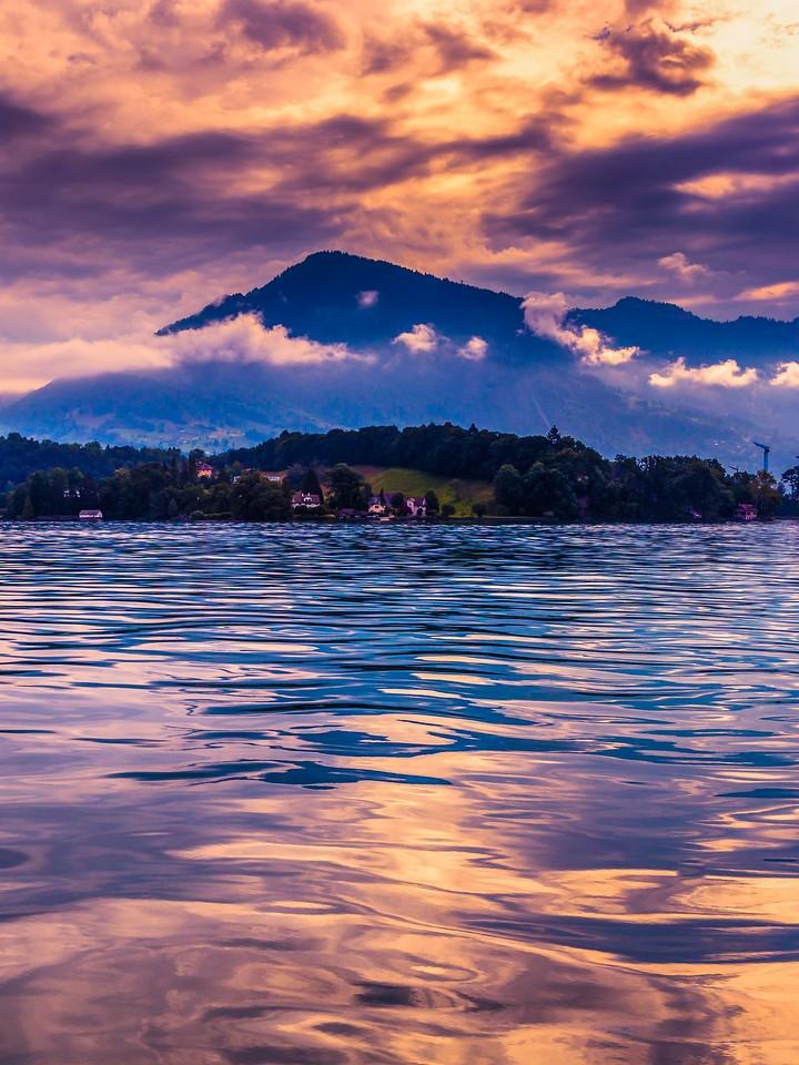 瑞士卢塞恩(Lucerne),浓浓的云彩_图1-28