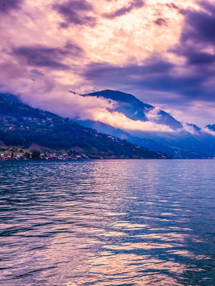 瑞士卢塞恩(Lucerne),浓浓的云彩_图1-37