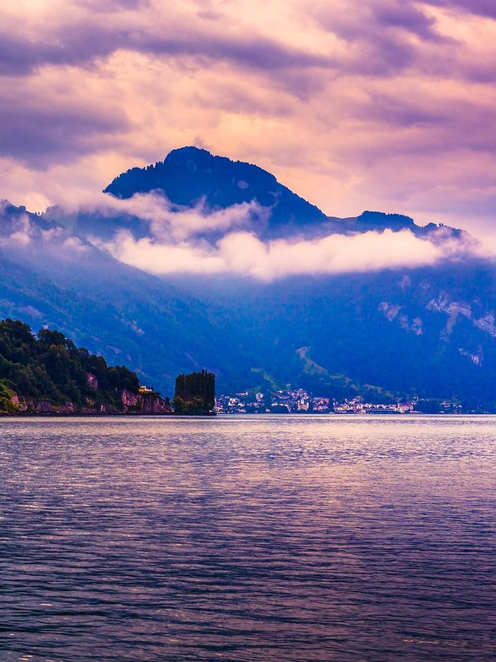 瑞士卢塞恩(Lucerne),浓浓的云彩_图1-34