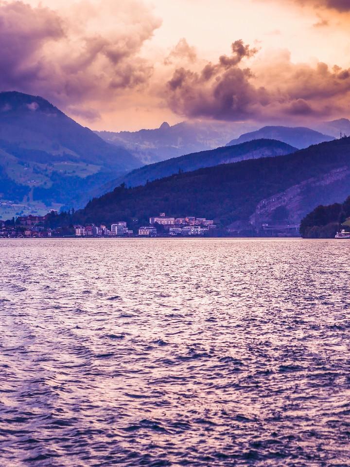 瑞士卢塞恩(Lucerne),浓浓的云彩_图1-39