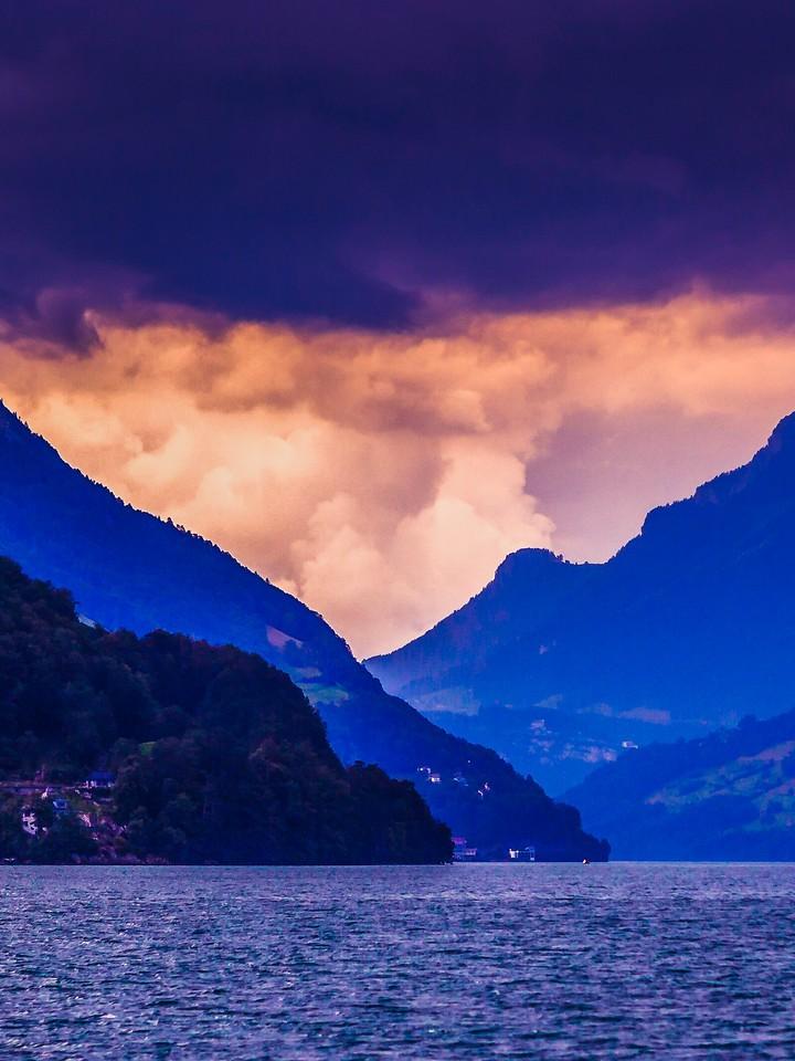 瑞士卢塞恩(Lucerne),浓浓的云彩_图1-38