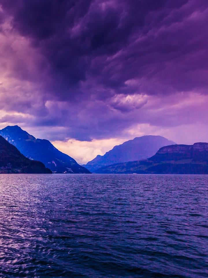 瑞士卢塞恩(Lucerne),浓浓的云彩_图1-35