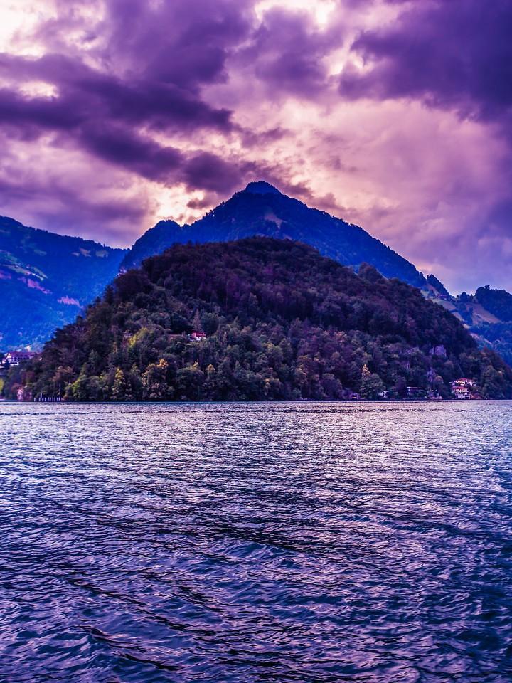 瑞士卢塞恩(Lucerne),浓浓的云彩_图1-40