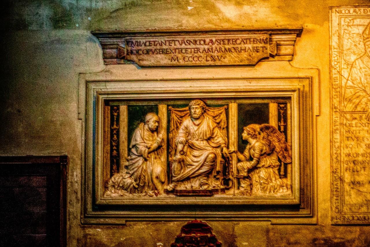 罗马圣伯多禄锁链堂,米开朗基罗杰作摩西雕像_图1-22