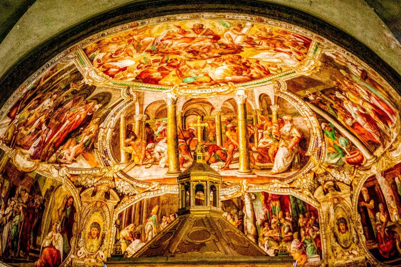 罗马圣伯多禄锁链堂,米开朗基罗杰作摩西雕像_图1-23