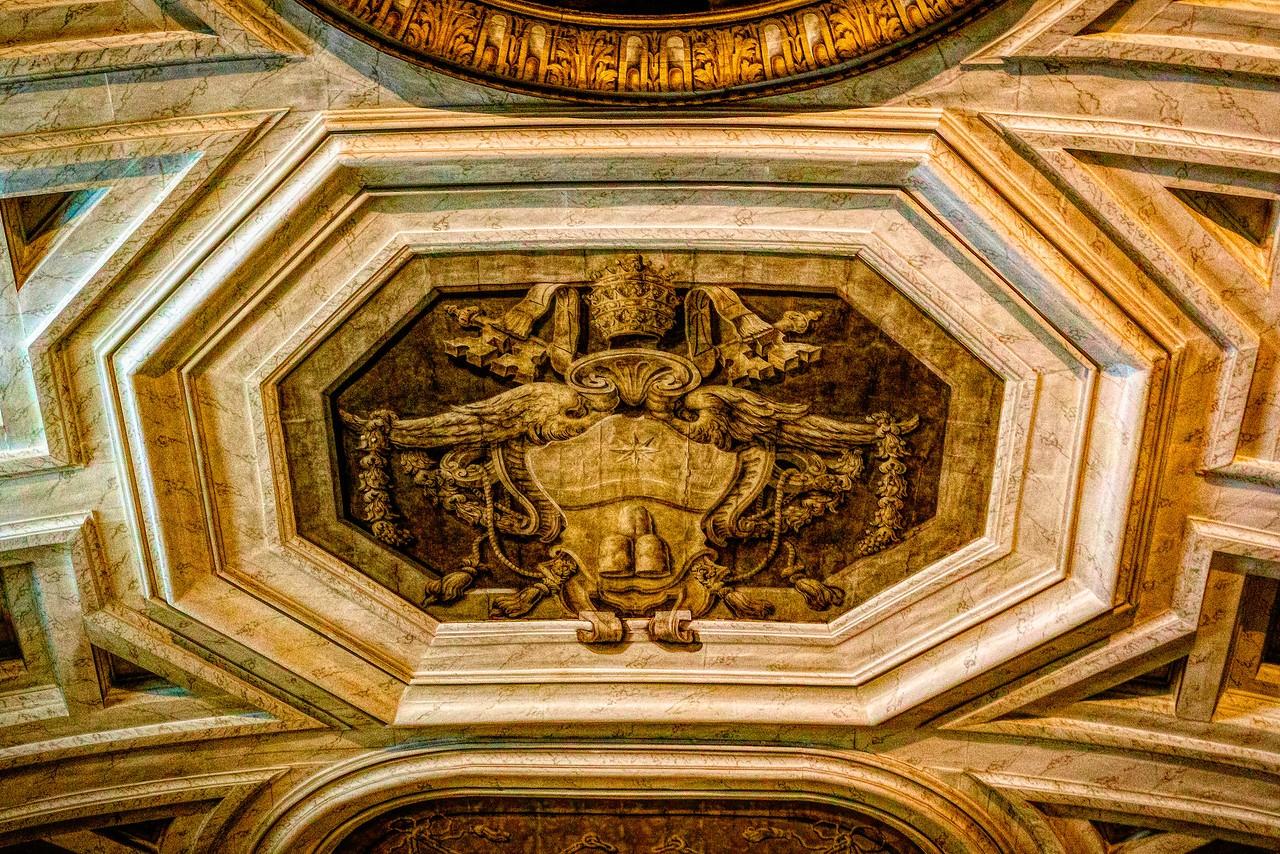 罗马圣伯多禄锁链堂,米开朗基罗杰作摩西雕像_图1-21