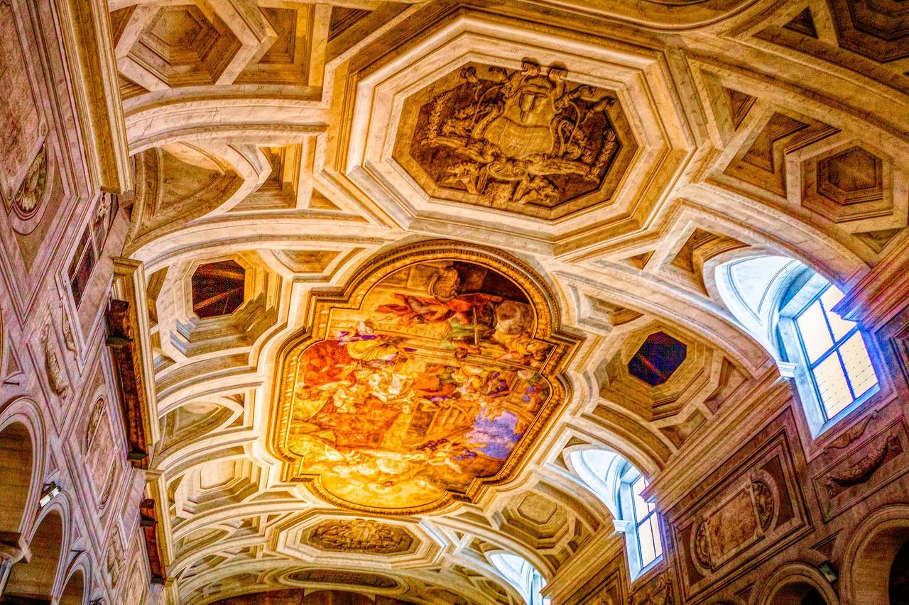 罗马圣伯多禄锁链堂,米开朗基罗杰作摩西雕像_图1-17