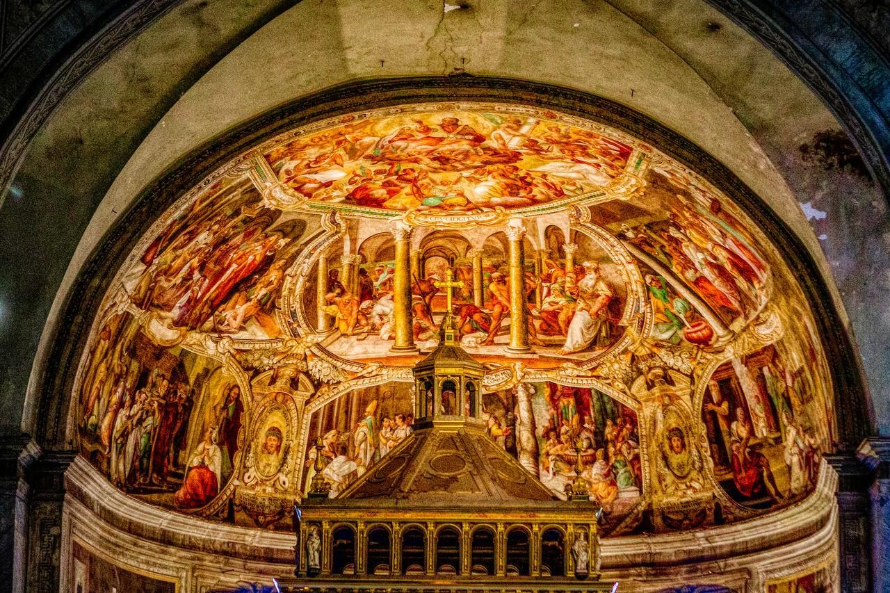 罗马圣伯多禄锁链堂,米开朗基罗杰作摩西雕像_图1-15