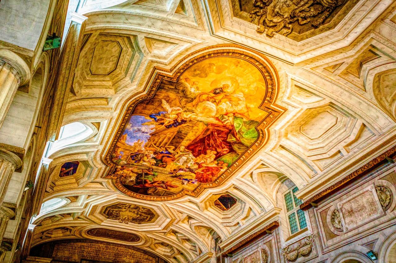 罗马圣伯多禄锁链堂,米开朗基罗杰作摩西雕像_图1-14