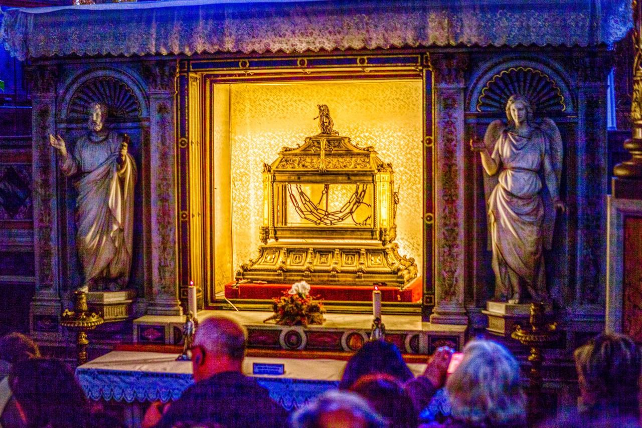 罗马圣伯多禄锁链堂,米开朗基罗杰作摩西雕像_图1-10
