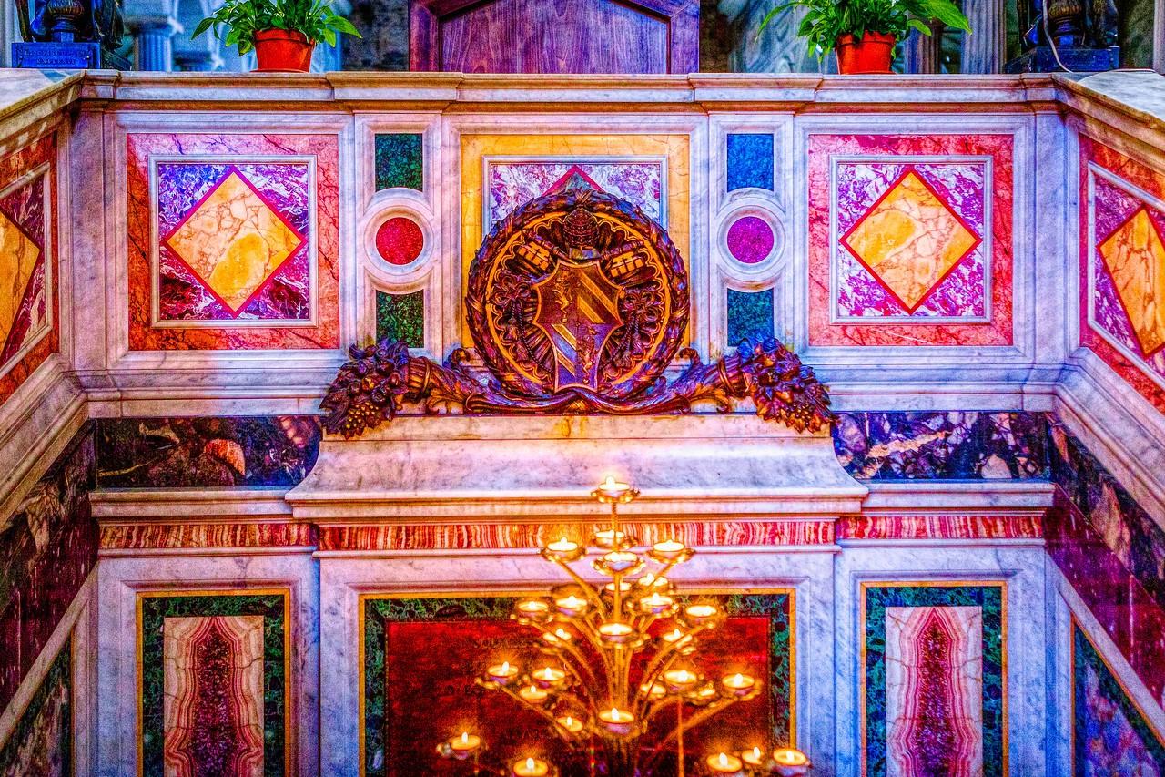 罗马圣伯多禄锁链堂,米开朗基罗杰作摩西雕像_图1-9