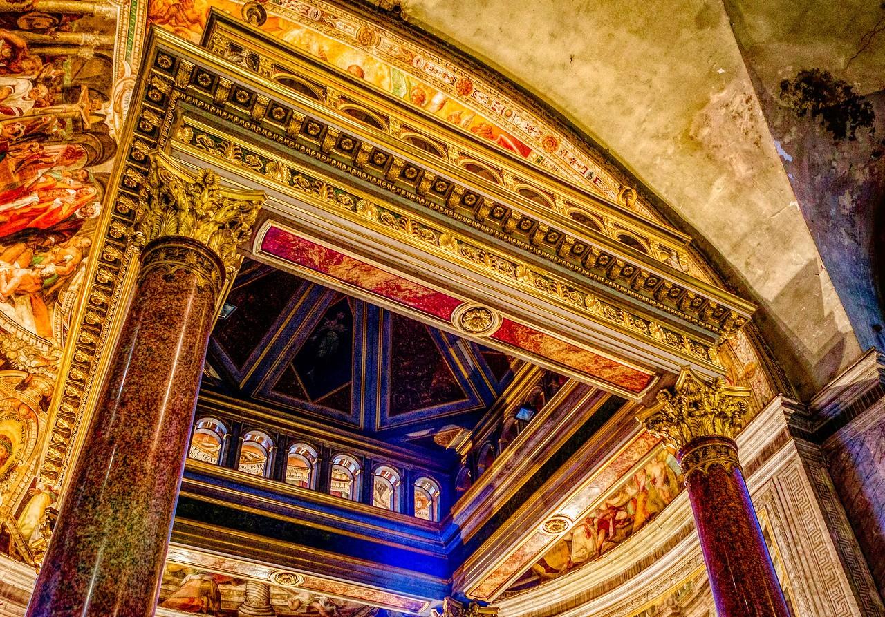 罗马圣伯多禄锁链堂,米开朗基罗杰作摩西雕像_图1-5