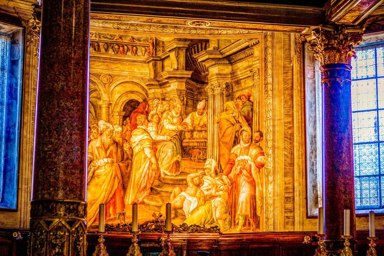 罗马圣伯多禄锁链堂,米开朗基罗杰作摩西雕像_图1-6
