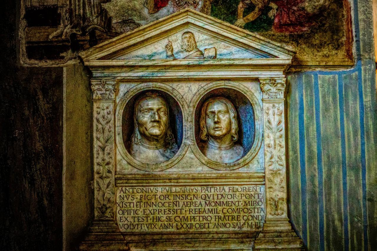 罗马圣伯多禄锁链堂,米开朗基罗杰作摩西雕像_图1-2