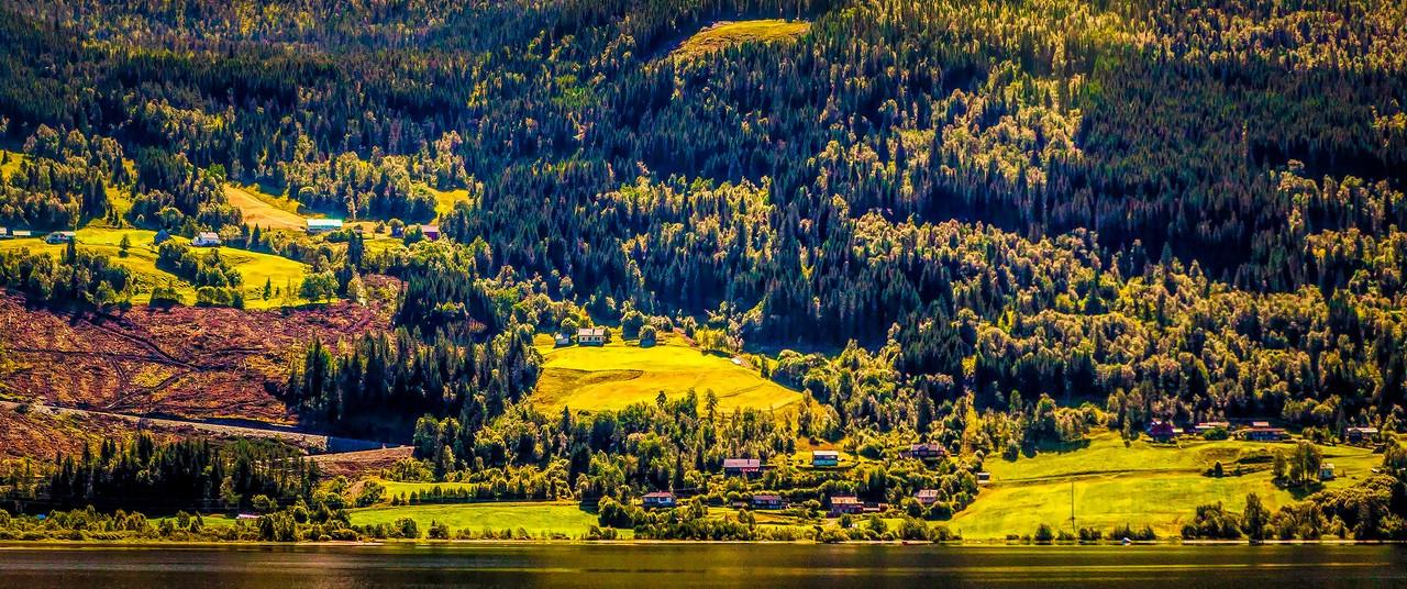北欧风光,山坡上的家园_图1-34