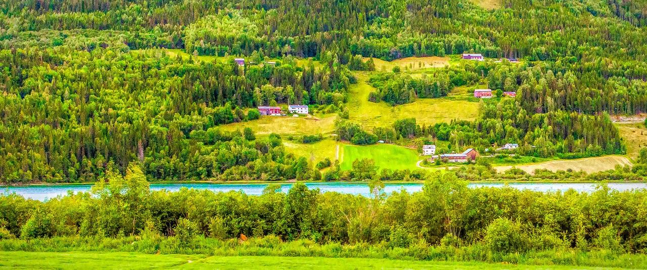 北欧风光,山坡上的家园_图1-32