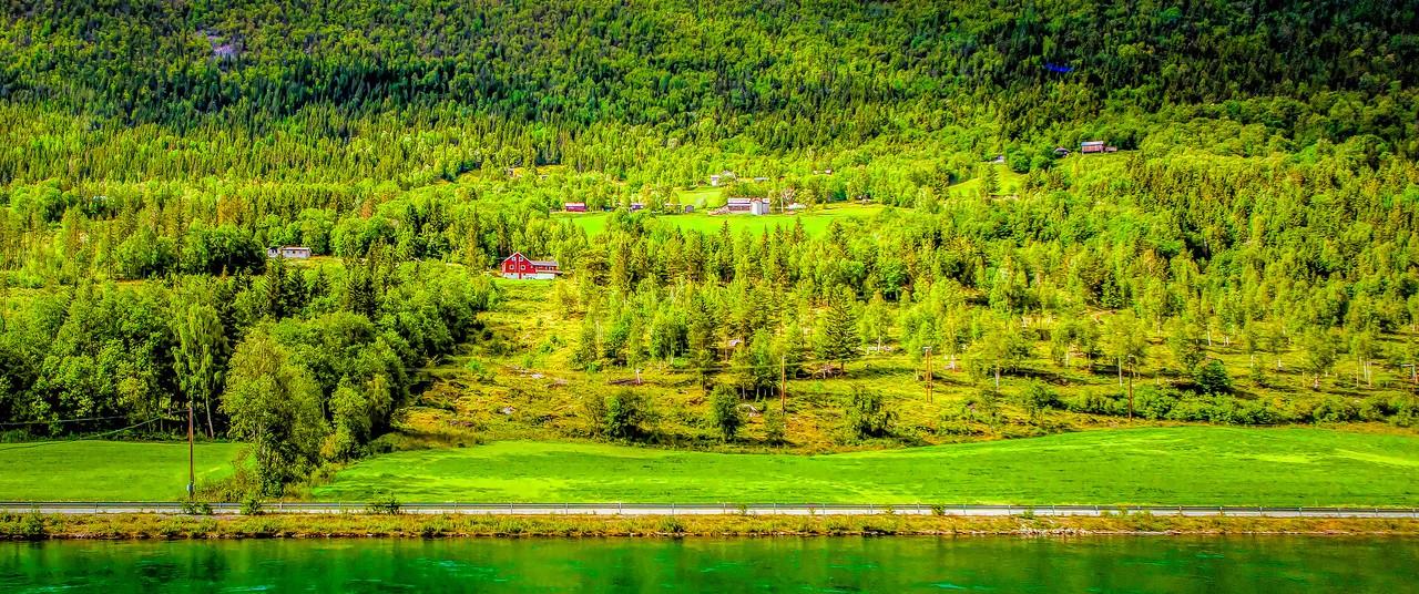 北欧风光,山坡上的家园_图1-29