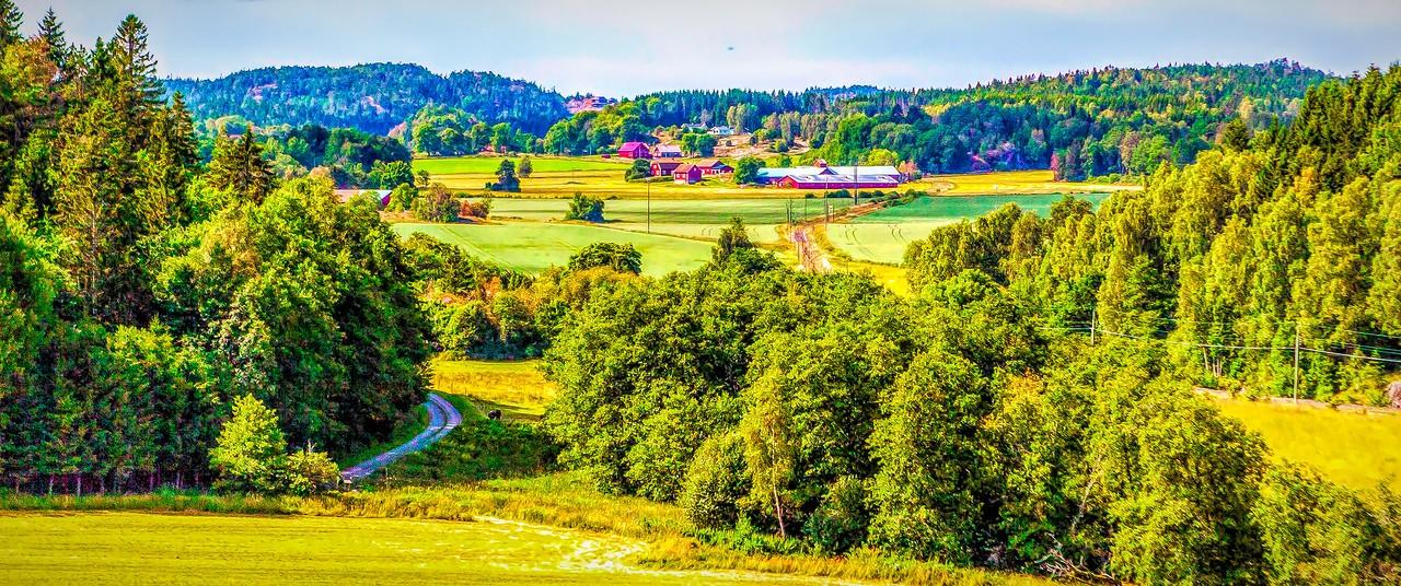北欧风光,山坡上的家园_图1-30