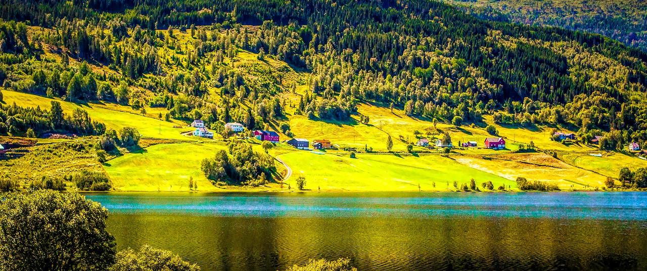 北欧风光,山坡上的家园_图1-28