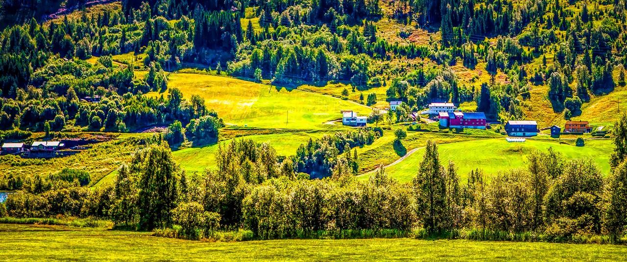 北欧风光,山坡上的家园_图1-41