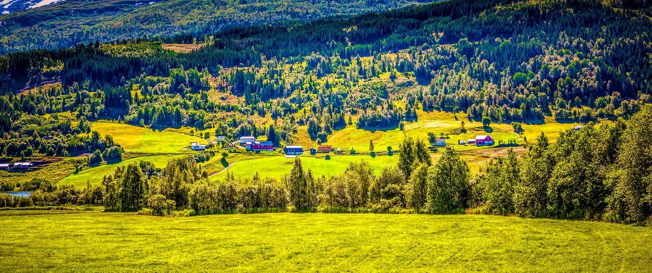 北欧风光,山坡上的家园_图1-42