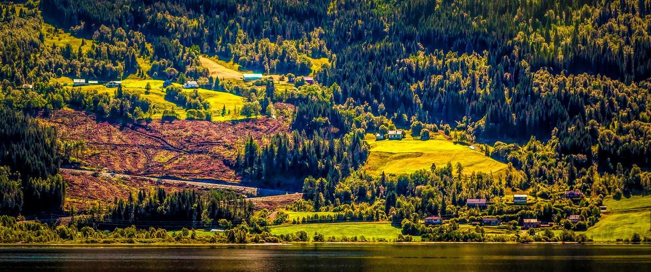 北欧风光,山坡上的家园_图1-43