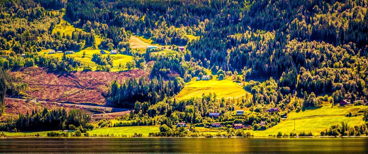 北欧风光,山坡上的家园_图1-20