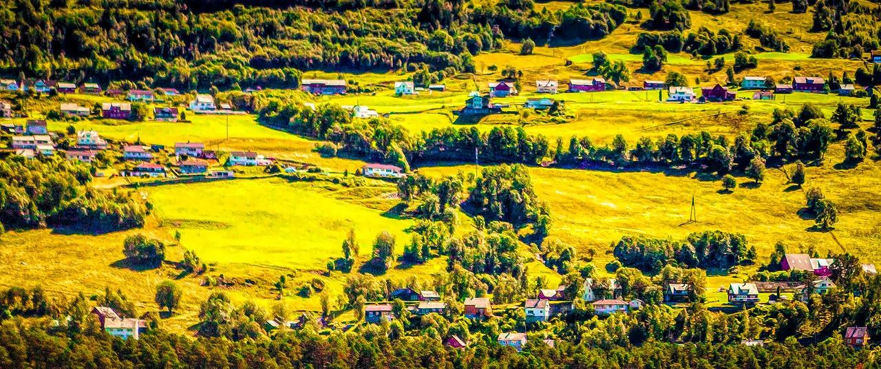 北欧风光,山坡上的家园_图1-12