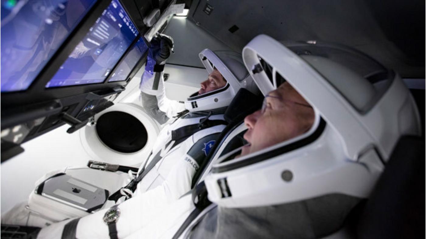 震撼!壮观!SpaceX火箭发射成功_图1-3