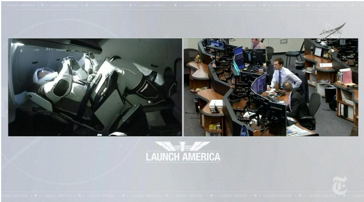 SpaceX太空船与空间站对接成功_图1-8
