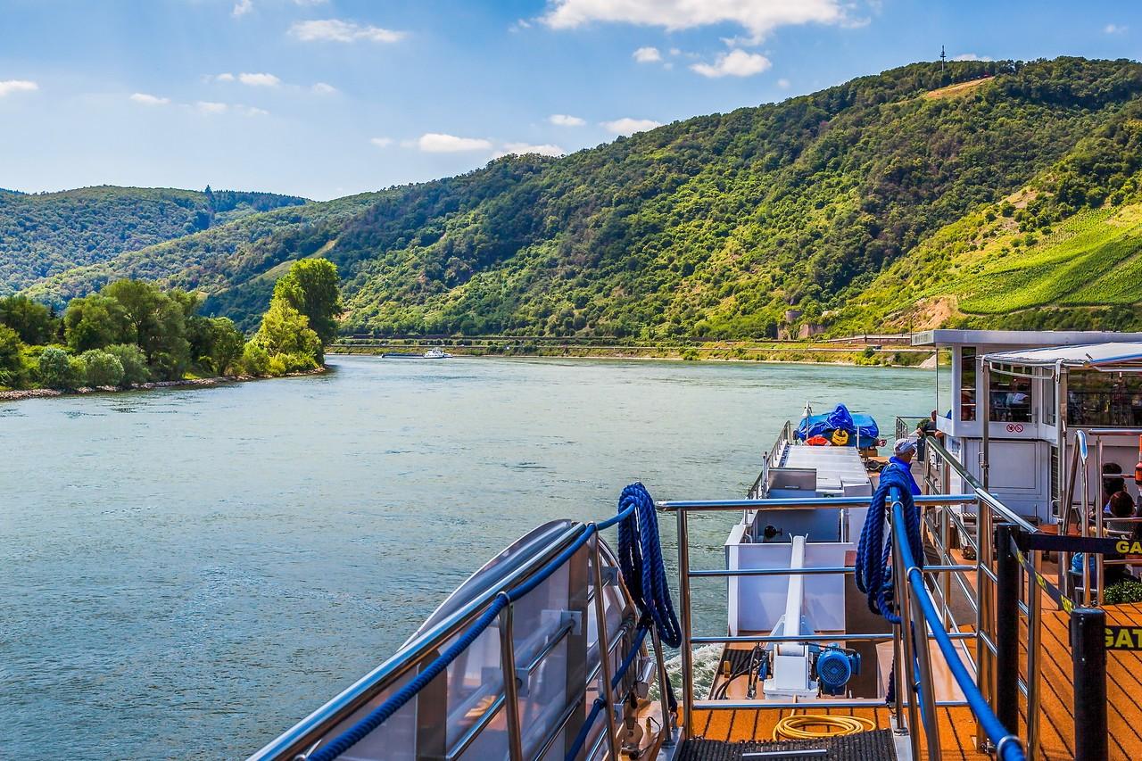 畅游莱茵河,游船视野_图1-5