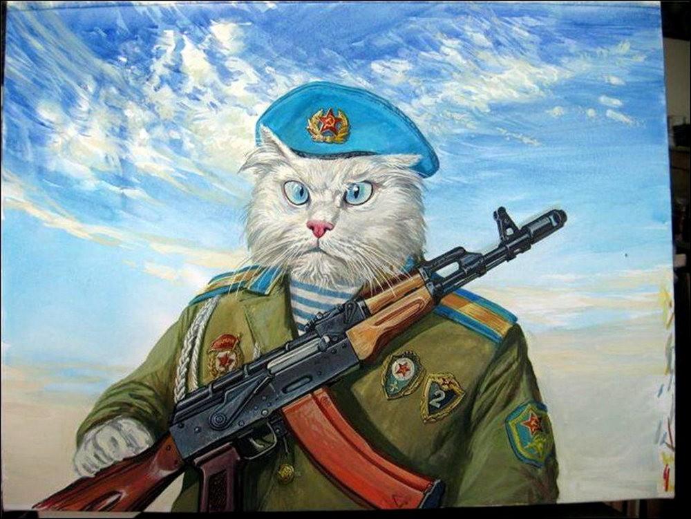 """画家亚历山大.扎瓦利的""""典型猫""""_图1-9"""