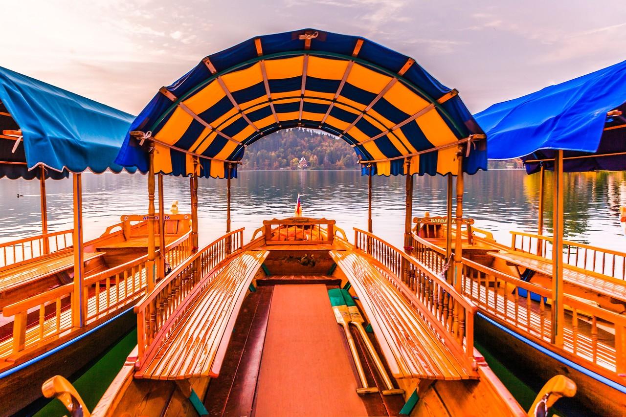 斯洛文尼亚布莱德湖(Lake Bled),湖边看景_图1-20