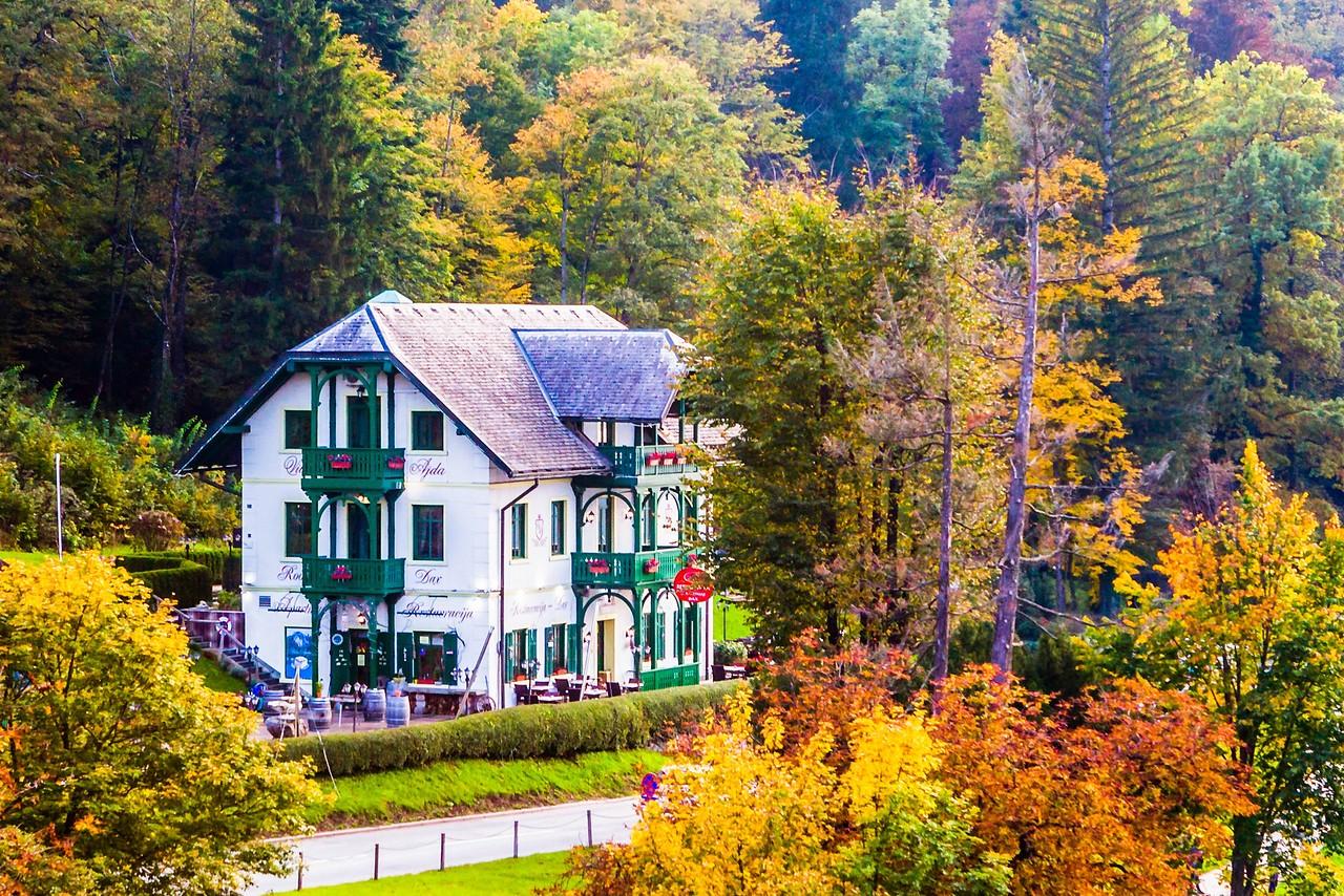 斯洛文尼亚布莱德湖(Lake Bled),湖边看景_图1-9