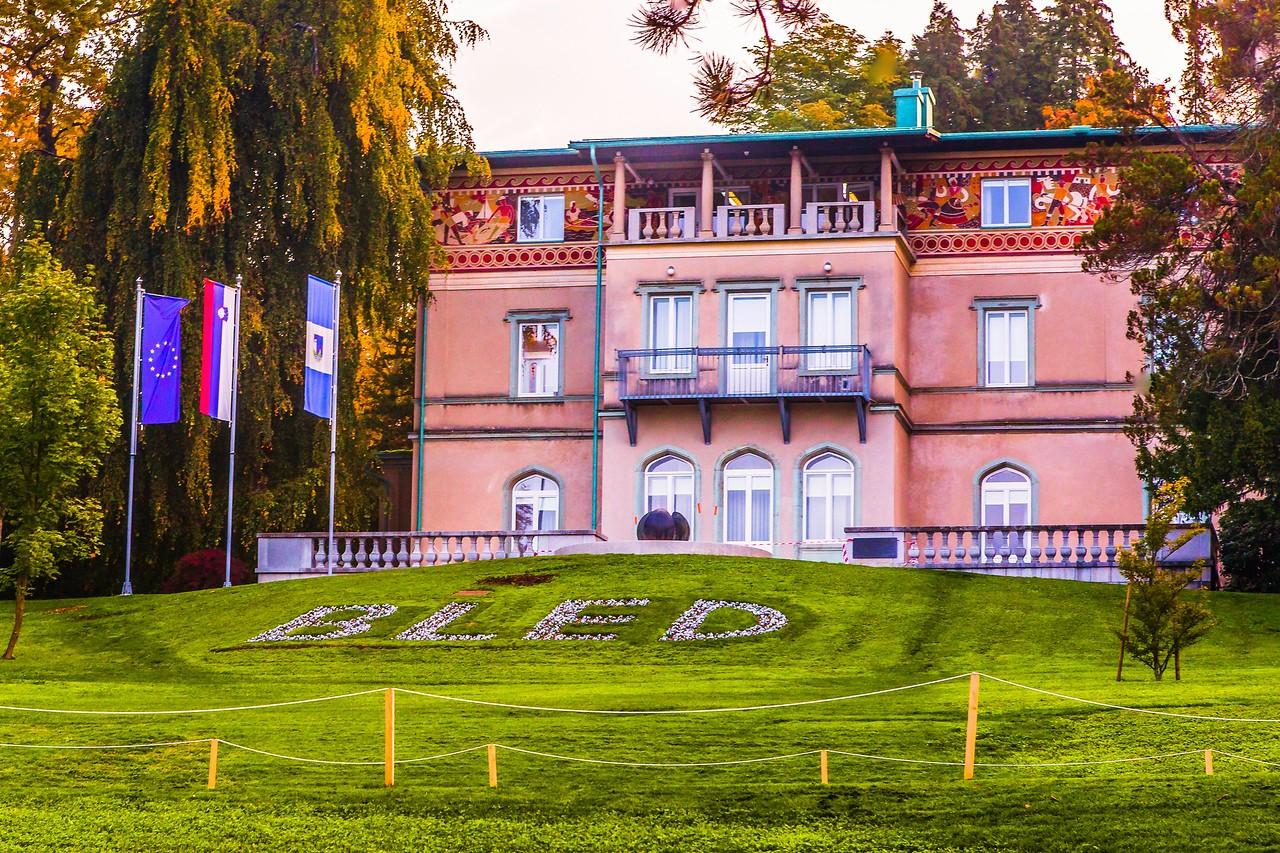 斯洛文尼亚布莱德湖(Lake Bled),湖边看景_图1-11