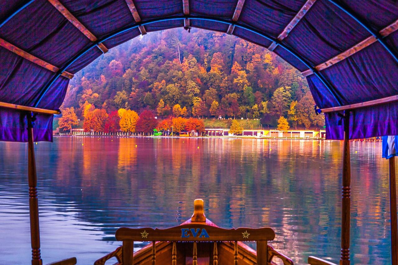 斯洛文尼亚布莱德湖(Lake Bled),湖边看景_图1-1