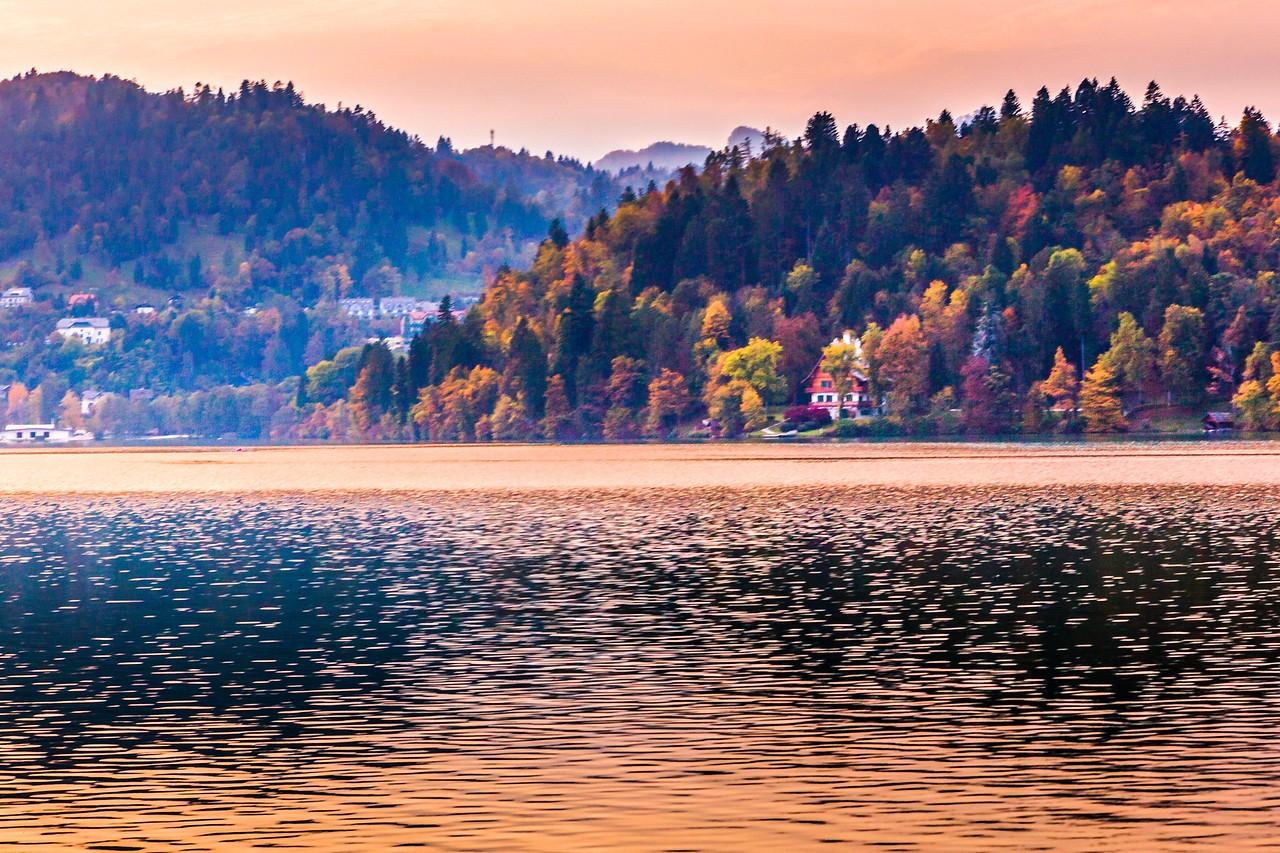 斯洛文尼亚布莱德湖(Lake Bled),湖边看景_图1-2