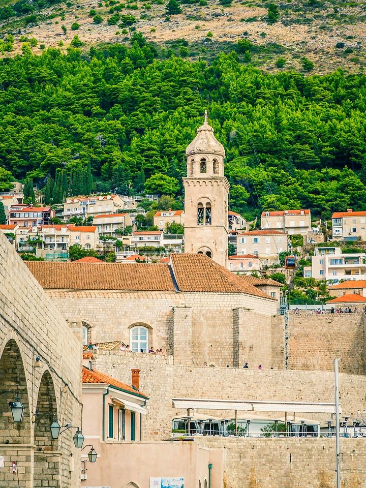 克罗地亚杜布罗夫尼克(Dubrovnik),寻游古城_图1-3