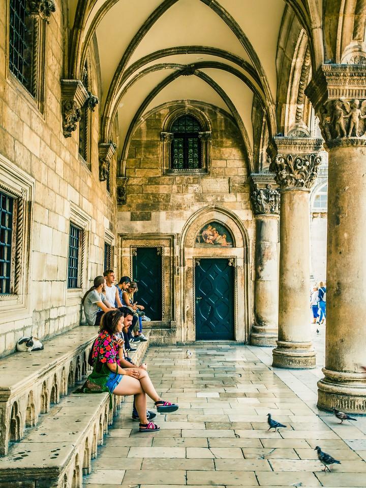 克罗地亚杜布罗夫尼克(Dubrovnik),寻游古城_图1-2