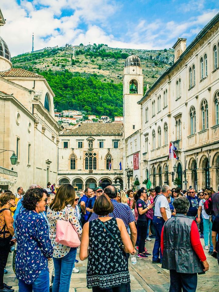 克罗地亚杜布罗夫尼克(Dubrovnik),寻游古城_图1-5