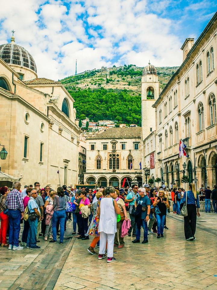 克罗地亚杜布罗夫尼克(Dubrovnik),寻游古城_图1-1